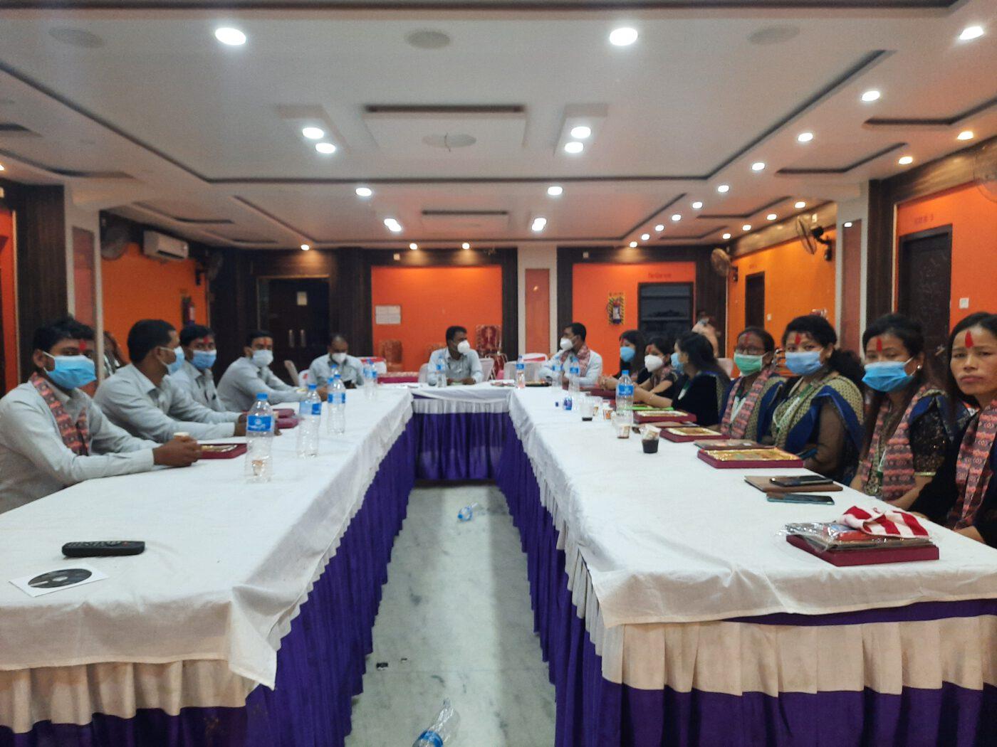 Annual Staff Meeting -2077